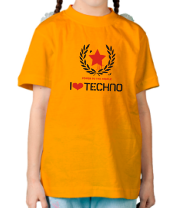 Детская футболка  Techno СССР