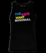 Мужская майка The Kids want minimal