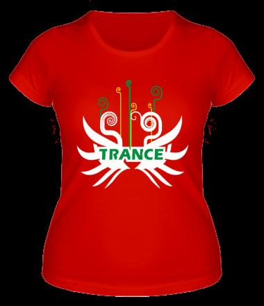 Женская футболка  Trance