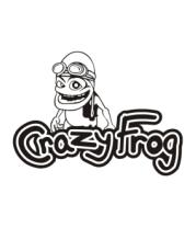 Женская майка борцовка Crazy Frog