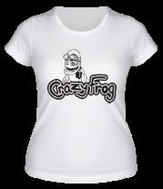 Женская футболка  Crazy Frog