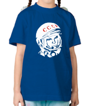 Детская футболка  Гагарин