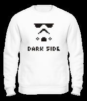 Толстовка без капюшона Dark side pixels