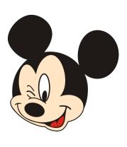 Толстовка без капюшона Mickey Mouse