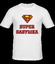 Мужская футболка  Супер бабушка
