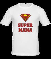 Мужская футболка  Super Мама
