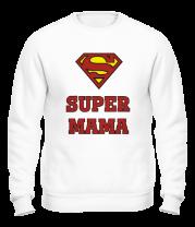 Толстовка без капюшона Super Мама
