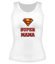 Женская майка борцовка Super Мама
