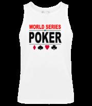 Мужская майка World series of poker