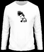 Мужская футболка с длинным рукавом Punk-girl