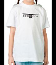 Детская футболка  Rammstein (Рамштайн) - крылья