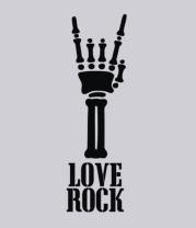Толстовка Love-rock