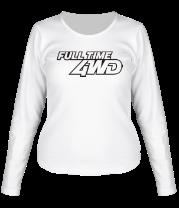 Женская футболка с длинным рукавом 4WD Full Time