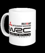 Кружка Mitsubishi wrc