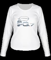 Женская футболка с длинным рукавом Audi Q7