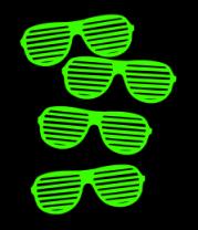 Мужская футболка  Очки