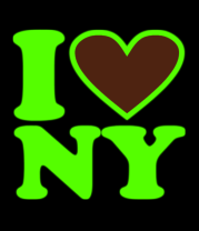 Женская майка борцовка I Love NY