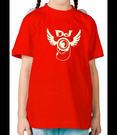 Детская футболка  DJ