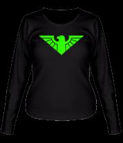 Женская футболка с длинным рукавом Орел