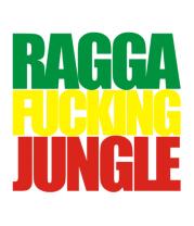Женская футболка с длинным рукавом Ragga Fucking Jungle