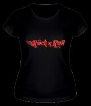 Женская футболка  Rock'n'Roll