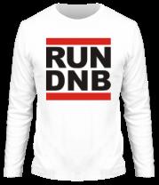 Мужская футболка с длинным рукавом Run dnb
