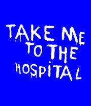 Футболка поло мужская Take me to the hospital