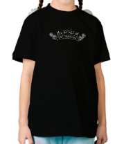 Детская футболка  The King of Drum&Bass