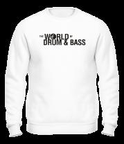 Толстовка без капюшона The World of Drum&Bass