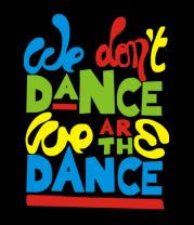 Детская футболка  we are the dance