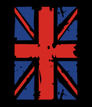 Женская майка борцовка Британский флаг