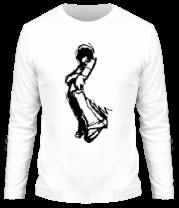 Мужская футболка с длинным рукавом Чувак