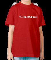 Детская футболка  Subaru