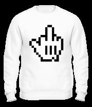 Толстовка без капюшона Pixel Fuck