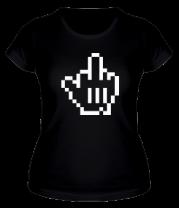 Женская футболка  Pixel Fuck
