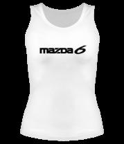 Женская майка борцовка Mazda 6