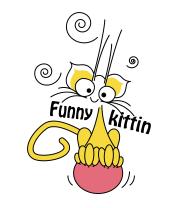 Женская майка борцовка Funny Kittin