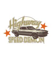 Детская футболка  Speed demon