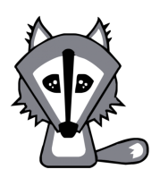 Детская футболка  Волк