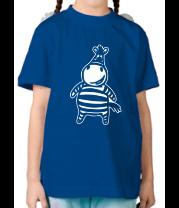 Детская футболка  Зебр