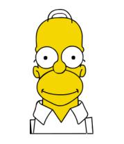 Мужская майка Гомер Симпсон