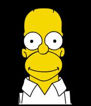 Женская футболка  Гомер Симпсон