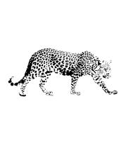 Толстовка без капюшона Леопард