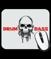 Коврик для мыши Drum And Bass Череп