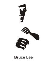 Толстовка без капюшона Bruce Lee