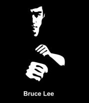 Женская футболка с длинным рукавом Bruce Lee