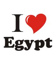 Кружка I love egypt