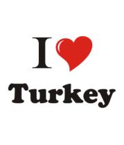 Кружка I love turkey