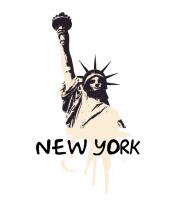 Футболка поло мужская New York
