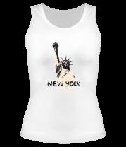 Женская майка борцовка New York
